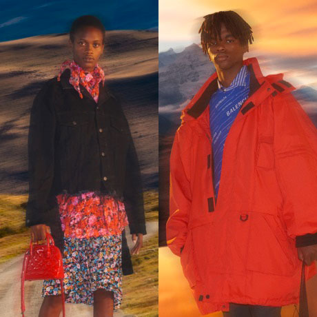 BALENCIAGA'S NEW CAPSULE COLLECTION AT FARFETCH EXCLUSIVE!