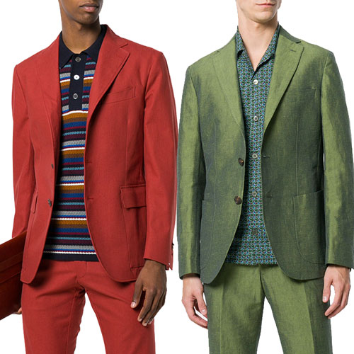 COLOURS IN BLOOM IN MEN'S CLOTHING
