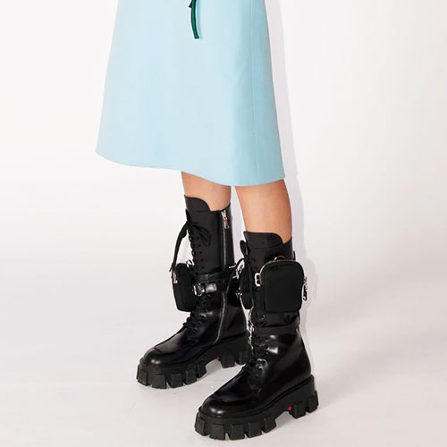 MILITARY-INSPIRED, COMBAT AND CHELSEA BOOTS