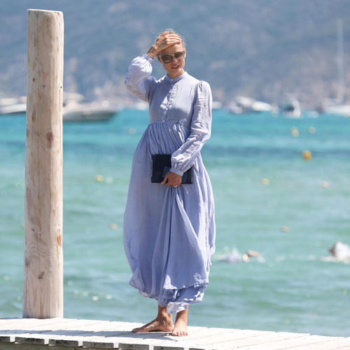 THE BEACH MAXI-DRESS