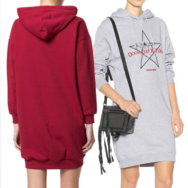 THE SWEATSHIRT DRESS